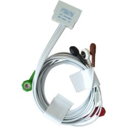 Câble ECG 2 voies 5 brins pour holter Spiderview, 74001
