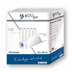 Draps d'examen E-ROLL ECO 50×38 cm (12 rouleaux)
