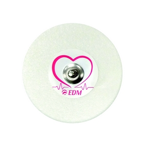 Electrodes ECG à pression EDM Silvertrace 2, FW50 (boîte de 800)