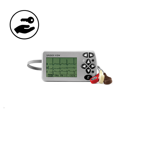 Location Holter ECG Spiderview