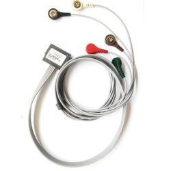 Câble ECG 2 voies 5 brins pour holter Spiderview, RC016