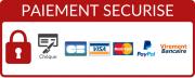 Moyens de paiement autorisés : chèque, virement, carte bancaire (Visa, MasterCard, PayPal)